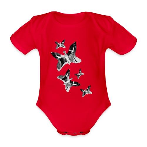 Schmetterlinge - Baby Bio-Kurzarm-Body