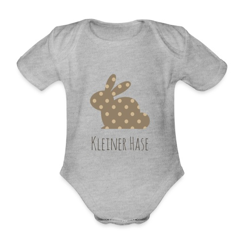 Kleiner Hase - Baby Bio-Kurzarm-Body
