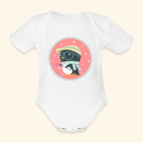 Dance With Me - Organic Short-sleeved Baby Bodysuit