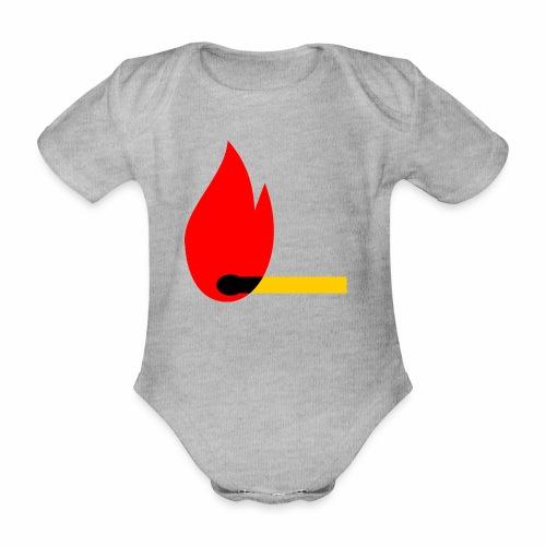 firewood - Baby Bio-Kurzarm-Body
