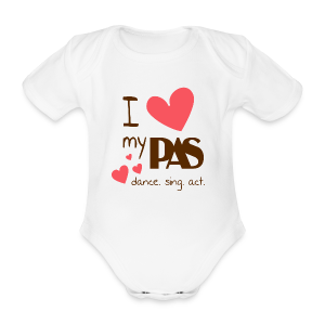 I love my PAS - Baby Bio-Kurzarm-Body