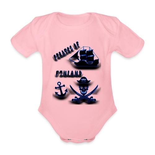 Pirates - Vauvan lyhythihainen luomu-body