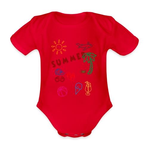 Summer - Vauvan lyhythihainen luomu-body