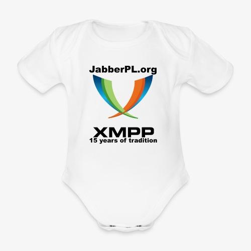 JabberPL.org XMPP - Organic Short-sleeved Baby Bodysuit