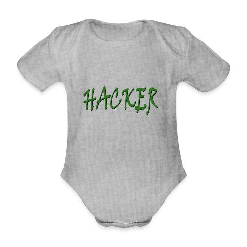 Hacker Green - Body Bébé bio manches courtes
