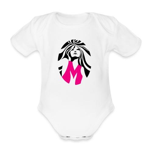 Mélody logo - Body Bébé bio manches courtes