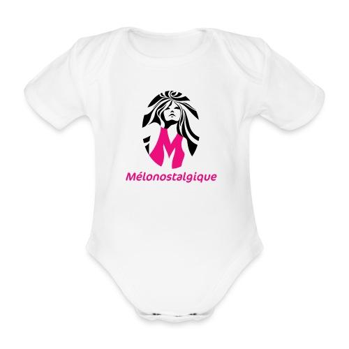 Mélonostalgique - Body Bébé bio manches courtes