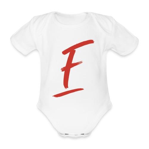 Radio Fugue F Rouge - Body bébé bio manches courtes