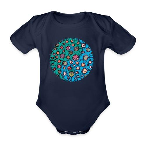 Yin Yang - Organic Short-sleeved Baby Bodysuit