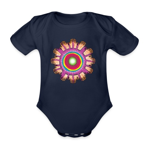 Victorian Sun Energy - Organic Short-sleeved Baby Bodysuit