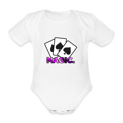 Magic! - Organic Short-sleeved Baby Bodysuit