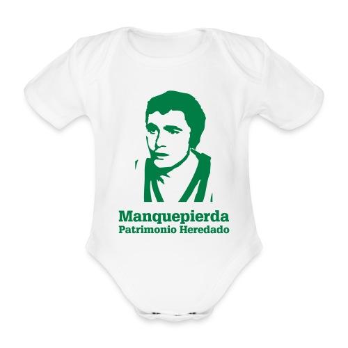 mpphgordillo - Body orgánico de maga corta para bebé