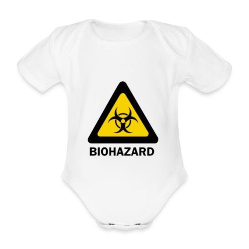 Biohazard - Organic Short-sleeved Baby Bodysuit
