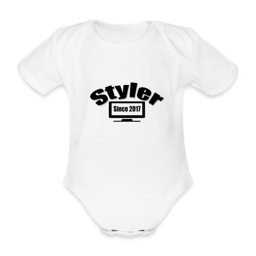 Styler Designer Kleding - Baby bio-rompertje met korte mouwen