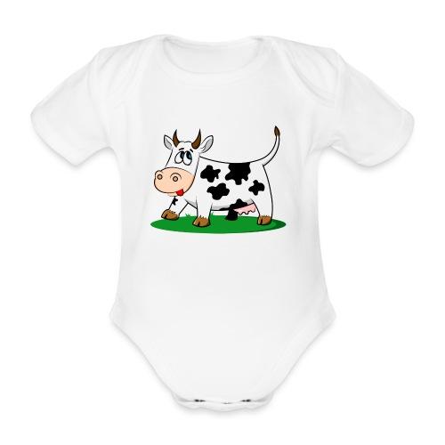 cow-1501690 - Body orgánico de maga corta para bebé