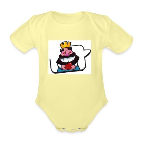 Cartoon - Body ecologico per neonato a manica corta