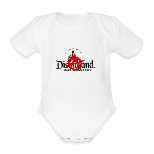 Anarchy ain't on sale(Dismaland unofficial gadget) - Organic Short-sleeved Baby Bodysuit