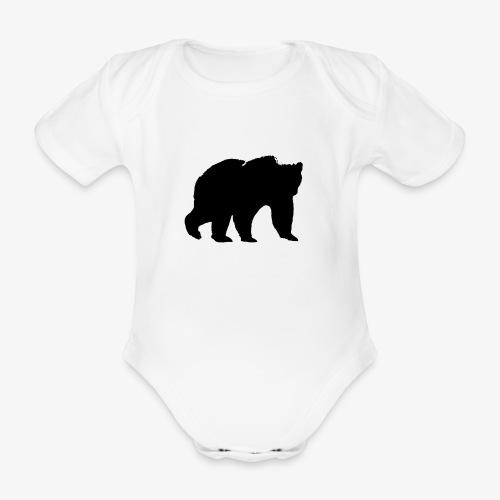 alouci - Ekologisk kortärmad babybody