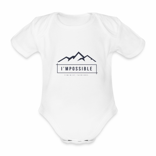 Impossible - Organic Short-sleeved Baby Bodysuit