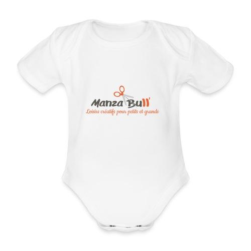ManzaBull - Body bébé bio manches courtes