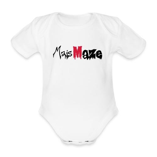 MaisMaze Logo - Baby Bio-Kurzarm-Body