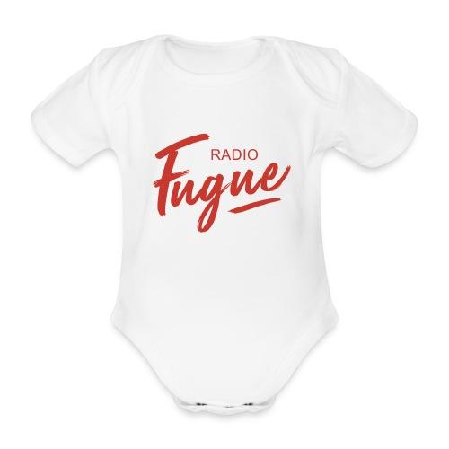 Radio Fugue Red - Body bébé bio manches courtes