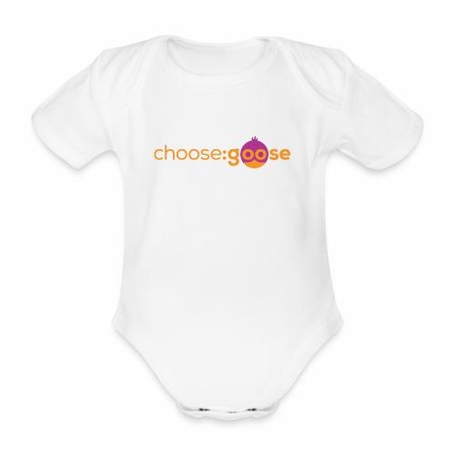 choosegoose #01 - Baby Bio-Kurzarm-Body