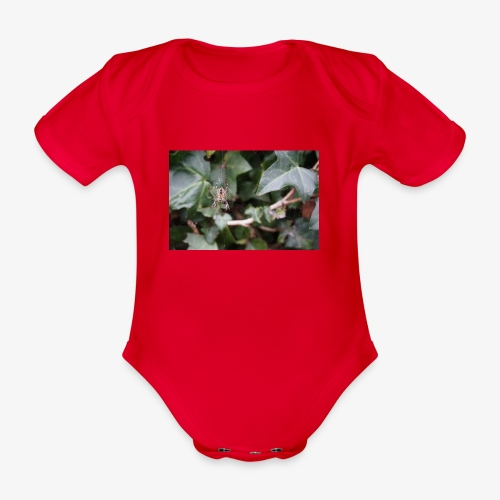 Incy Wincy Spider - Organic Short-sleeved Baby Bodysuit