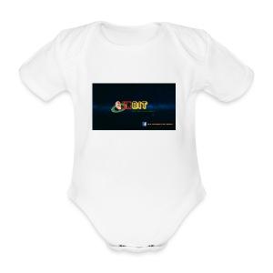 OhrBit Logo - Baby Bio-Kurzarm-Body