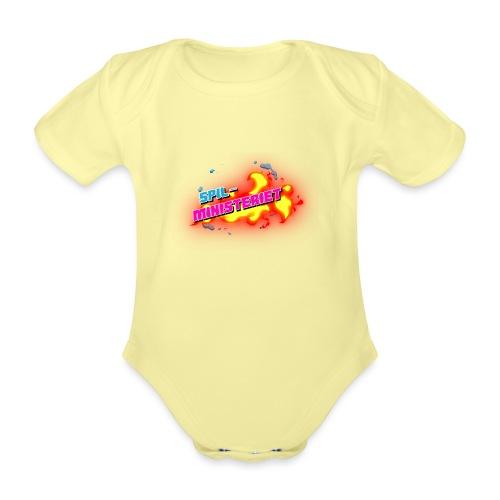 Spilministeriet - Kortærmet babybody, økologisk bomuld