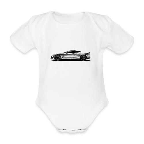 serie 8 Concept car - Body orgánico de manga corta para bebé