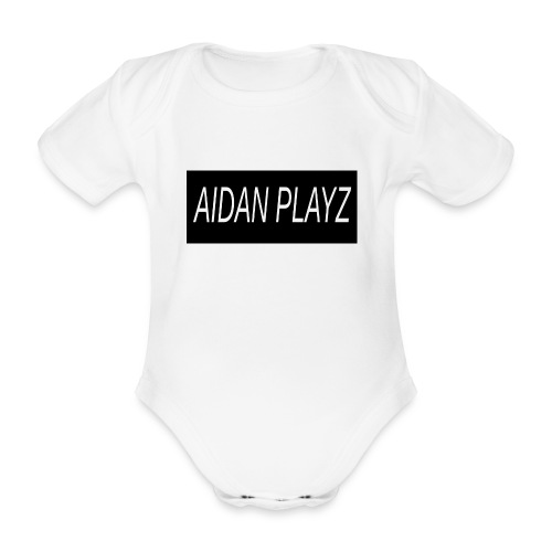 AIDAN - Organic Short-sleeved Baby Bodysuit