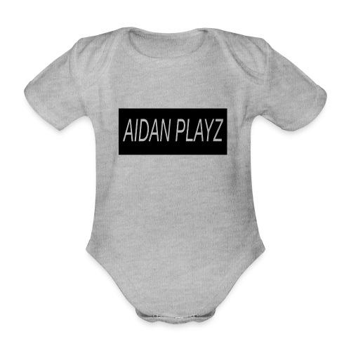AIDAN - Organic Short-sleeved Baby Bodysuit