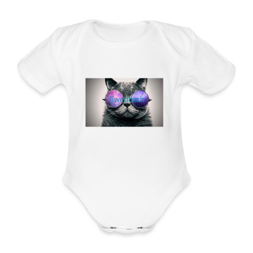 youtube bild 3 2 - Ekologisk kortärmad babybody