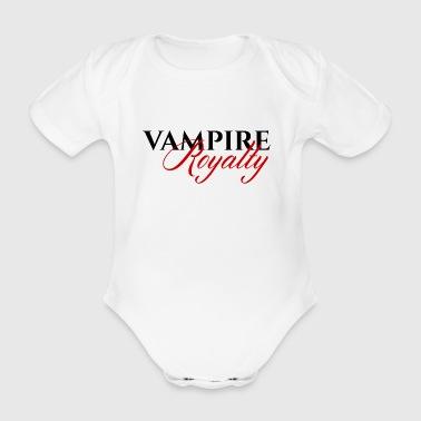 Fantasy / Vampire / Dracula: Vampire Royalty - Body ecologico per neonato a manica corta