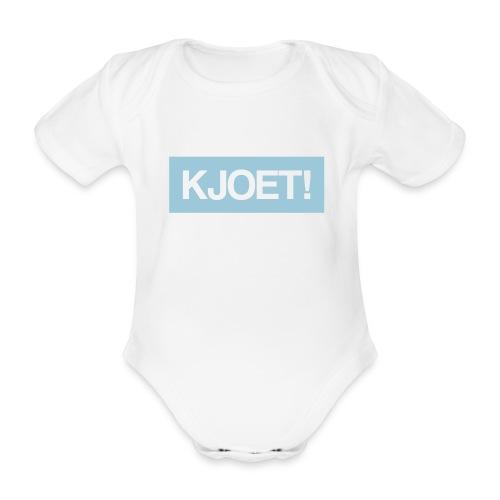 Kjoet - Baby bio-rompertje met korte mouwen