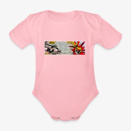 ATOX - Body ecologico per neonato a manica corta