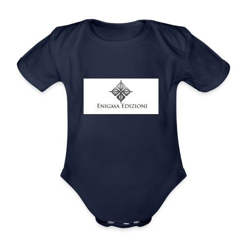 enigma - Body ecologico per neonato a manica corta