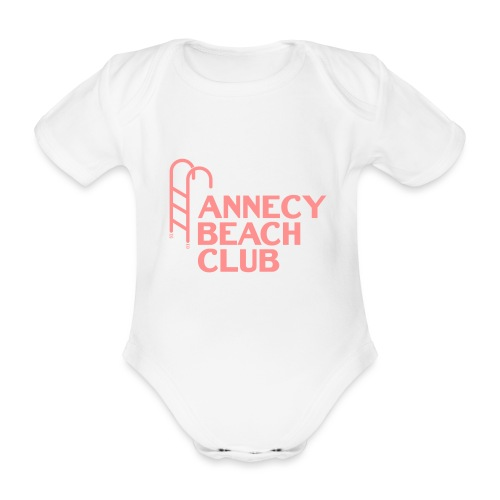 Annecy beach club - natation - Body Bébé bio manches courtes