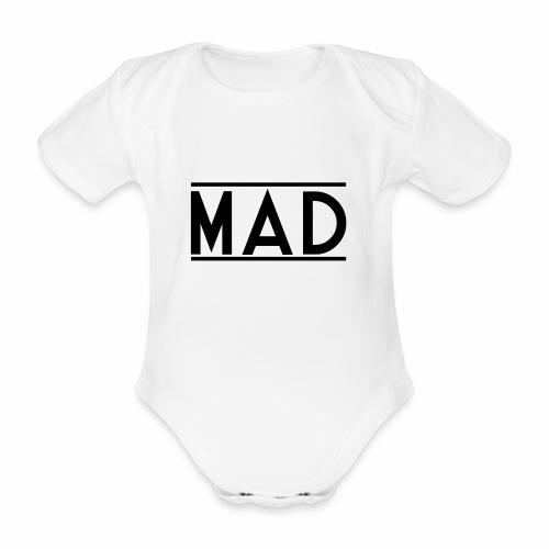 MAD - Body ecologico per neonato a manica corta