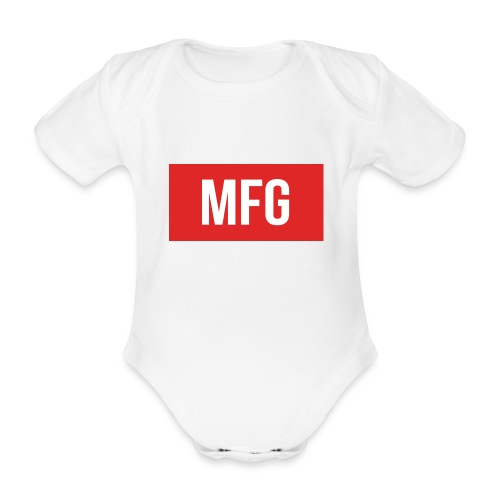 MFG on Youtube Logo - Organic Short-sleeved Baby Bodysuit