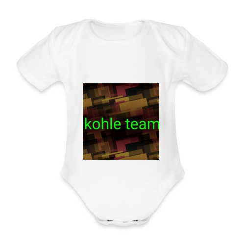 Server team - Baby Bio-Kurzarm-Body