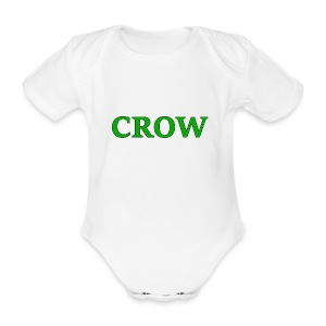 Crow - Organic Short-sleeved Baby Bodysuit