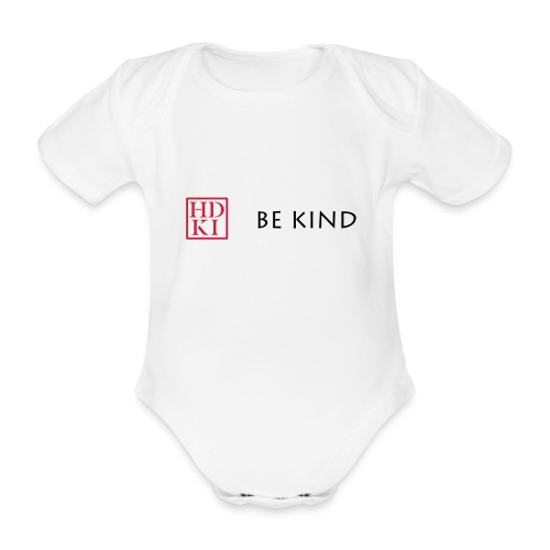 HDKI Be Kind - Organic Short-sleeved Baby Bodysuit