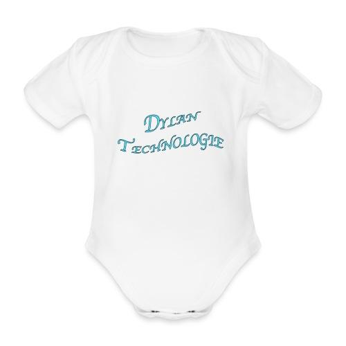 Dylan Technologie - Body Bébé bio manches courtes