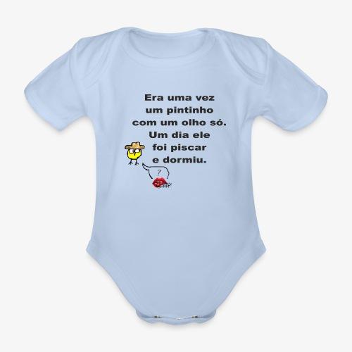 Era uma vez... - Organic Short-sleeved Baby Bodysuit