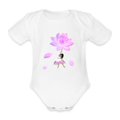 Fly beautiful - Baby Bio-Kurzarm-Body