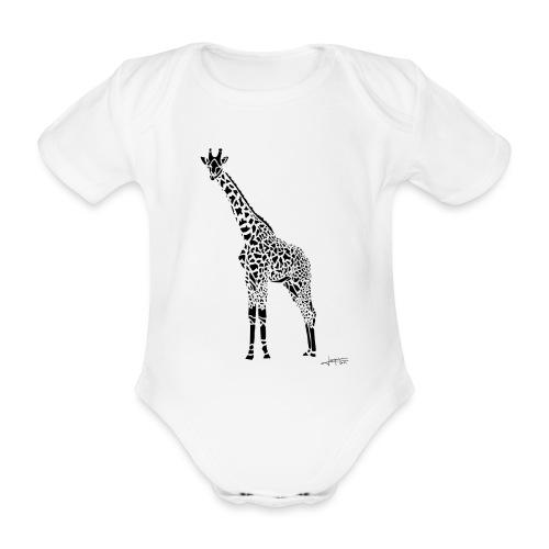 Black Girafe By Joaquín - Body Bébé bio manches courtes