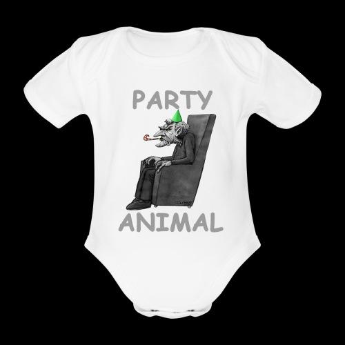 Miserable Git 2 - Organic Short-sleeved Baby Bodysuit