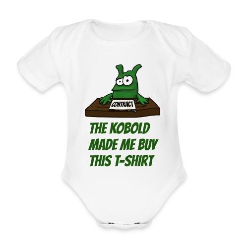 Kobold made me buy - Organic Short-sleeved Baby Bodysuit